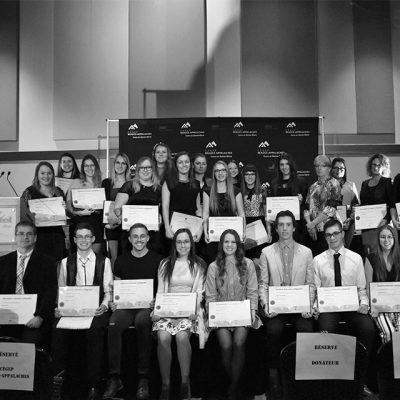 Photo des diplômés 2018 à Sainte-Marie