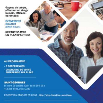 Journée entreprise transition numérique